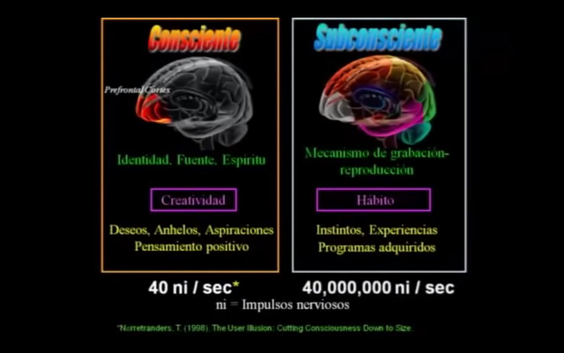11b mente consciente vs mente subconsciente